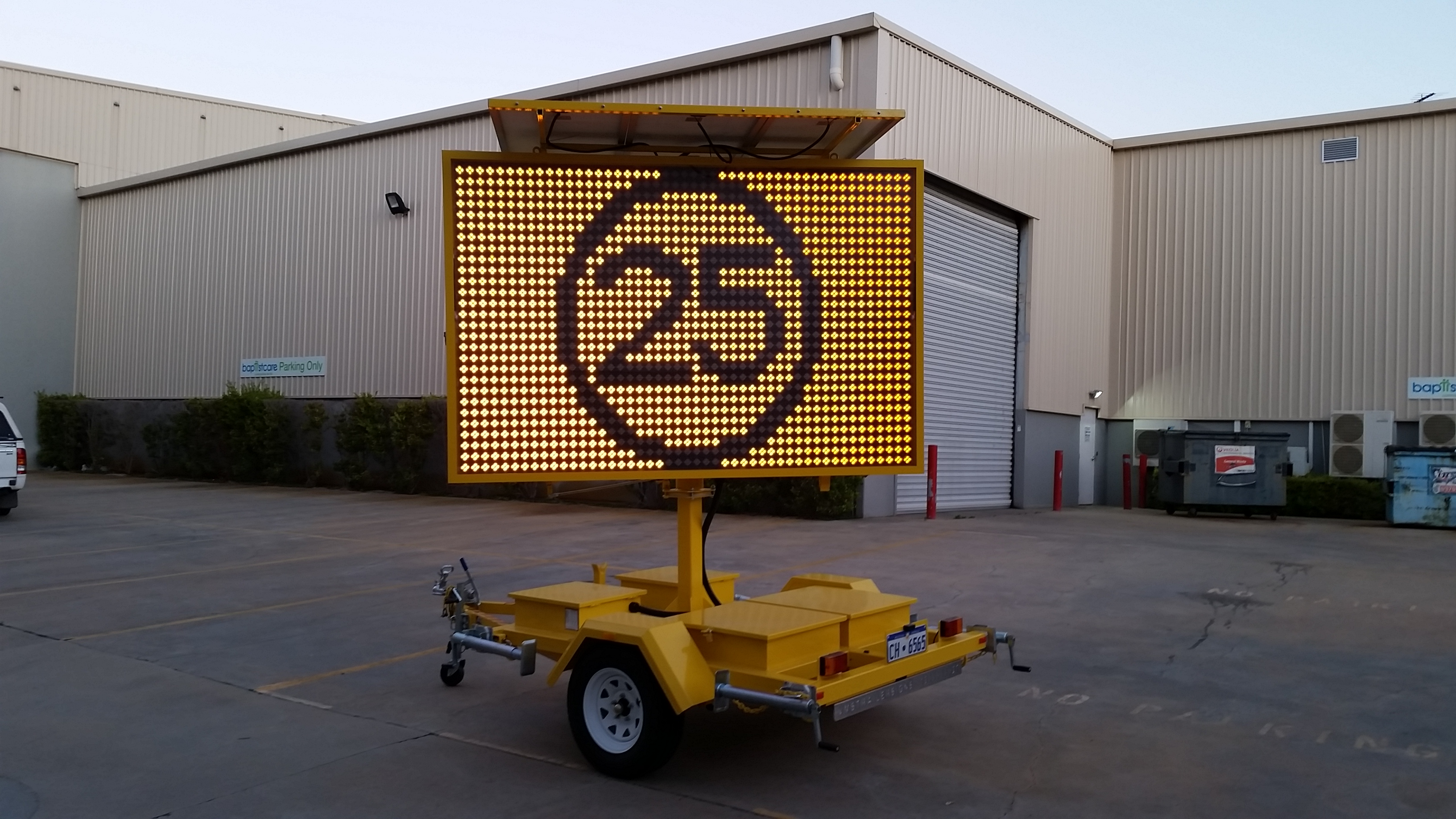 LED Speed warning sign sales Perth
