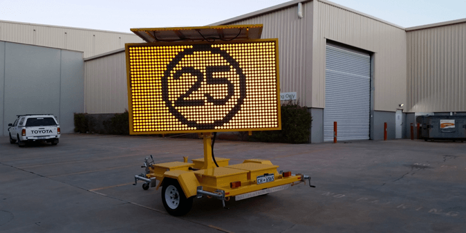 LED Traffic sign solutions in Perth