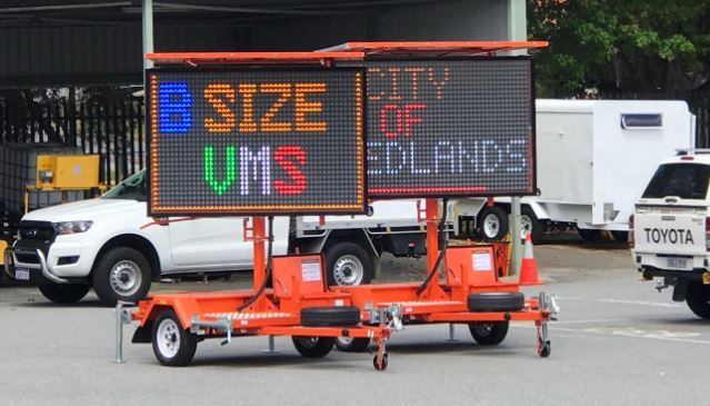 VMS LED Trailer Hire Rent and sales in Perth