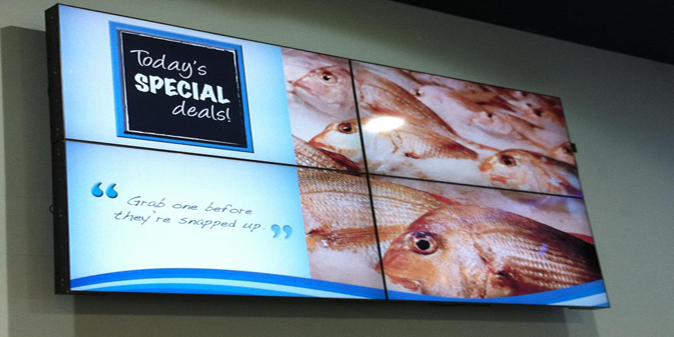 LED Video Walls for shops